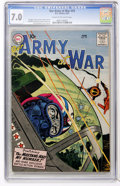 Silver Age (1956-1969):War, Our Army at War #59 (DC, 1957) CGC FN/VF 7.0 Cream to off-white pages....