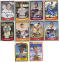 Autographs:Sports Cards, 1980s Baseball Legends and Greats Signed Baseball Cards Lot of 39.With a total of thirty-four 1990 Pacific Legends signed ...