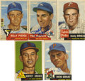 Autographs:Sports Cards, 1953 Topps Baseball Signed Cards Group Lot of 60. One of the hobby-favorite issues of the 1950s is the focus here as we pre...