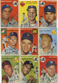 Autographs:Sports Cards, 1954 Topps Baseball Signed Cards Group Lot of 71. A lot of 1954Topps baseball cards signed by many stars and regular playe...