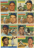 Autographs:Sports Cards, 1955-56 Topps Baseball Signed Cards Group Lot of 71. A group of signed 1955 and 1956 Topps cards. Seventy-one cards make up...