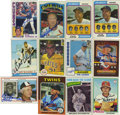 Autographs:Sports Cards, 1970s-80s Signed Baseball Cards Group Lot of 60. A lot of sixtybaseball cards signed by Hall of Famers, baseball greats an...