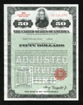 Miscellaneous:Other, $50 3% Bond 1945.. ...