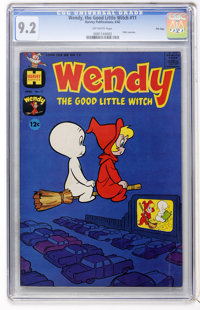 Wendy, the Good Little Witch #11 File Copy (Harvey, 1962) CGC NM- 9.2 Off-white pages