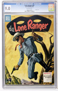Golden Age (1938-1955):Western, Lone Ranger #87 (Dell, 1955) CGC VF/NM 9.0 Off-white pages....