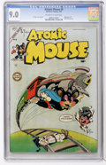 Golden Age (1938-1955):Funny Animal, Atomic Mouse #9 (Charlton, 1954) CGC VF/NM 9.0 Off-white to whitepages....