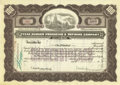 Miscellaneous:Ephemera, Texas Ranger Producing & Refining Company $100 StockCertificate 1920....