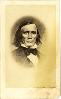 Photography:CDVs, Carte de Visite Photograph of Kit Carson by E. Anthony, ca. 1860s. ...