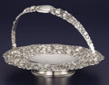 Silver & Vertu:Hollowware, AN AMERICAN SILVER BASKET. The Stieff Company, Baltimore, Maryland, 1915. Marks: STIEFF, (crowned S), STERLING, X, 505...