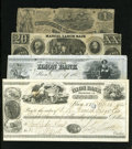 Confederate Notes:Group Lots, Confederate and Others.. ... (Total: 4 items)