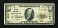 National Bank Notes:Virginia, Petersburg, VA - $10 1929 Ty. 1 The Virginia NB Ch. # 7709. ...