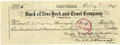 Autographs:U.S. Presidents, Franklin D. Roosevelt: Check Signed as President of Georgia Warm Springs Foundation...