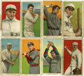 Baseball Cards:Lots, 1909-11 T206 Baseball Cards Lot of 42. Presented is a collection of42 1909-11 T206 baseball cards in overall PR to GD cond...
