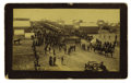 Photography:Cabinet Photos, Imperial Size Photograph First Decoration Day Guthrie, OklahomaTerritory (Indian Territory) 1889. ...