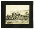 Western Expansion:Goldrush, Imperial Size Photograph of National Guard Goldfield, Colorado 1903. ...