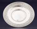 Silver Holloware, American:Plates, AN AMERICAN SILVER SANDWICH PLATE. International Silver Co.,Meriden, Connecticut, circa 1924. Marks: (S in shield),INTER...
