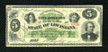 Obsoletes By State:Louisiana, New Orleans, LA- State of Louisiana $5 Dec. 20, 1866. ...