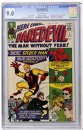 Silver Age (1956-1969):Superhero, Daredevil #1 (Marvel, 1964) CGC VF/NM 9.0 Off-white pages....
