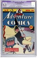 Golden Age (1938-1955):Superhero, Adventure Comics #48 (DC, 1940) CGC Apparent FN+ 6.5 Moderate (P) Off-white to white pages....