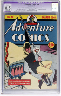 Adventure Comics #48 (DC, 1940) CGC Apparent FN+ 6.5 Moderate (P) Off-white to white pages