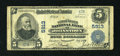 National Bank Notes:Pennsylvania, Johnstown, PA - $5 1902 Plain Back Fr. 607 The United States NB Ch. # 5913. ...