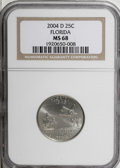Statehood Quarters, 2004-D 25C Florida MS68 NGC. PCGS Population (492/7). NumismediaWsl. Price for NGC/PCGS coin in MS68: ...