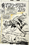 Original Comic Art:Covers, Ogden Whitney - Two-Gun Kid #88 Cover Original Art (Marvel,1967)....