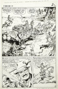 Original Comic Art:Panel Pages, Dick Ayers and Bill Everett (as Bill Roman) - Two-Gun Kid #81, page2 Original Art (Marvel, 1966)....