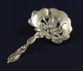 Silver Flatware, American:Whiting, AN AMERICAN SILVER BON BON SPOON. Whiting Manufacturing Company,North Attleboro, Massachusetts, circa 1901. Marks: (W with ...