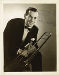 Autographs:Celebrities, Glenn Miller Signed Photograph. ...