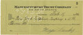 Autographs:Celebrities, Meyer Lansky Signed Check Made Out Entirely in His Hand,...