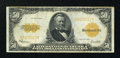 Large Size:Gold Certificates, Fr. 1200 $50 1922 Gold Certificate Very Fine....