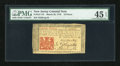 Colonial Notes:New Jersey, New Jersey March 25, 1776 18d PMG Choice Extremely Fine 45 EPQ....