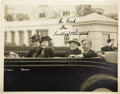 Autographs:U.S. Presidents, Franklin D. Roosevelt: Signed Photograph as President....