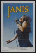 "Movie Posters:Rock and Roll, Janis (Universal, 1975). One Sheet (27"" X 41""). Rock and Roll...."