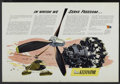 "Movie Posters:War, WWII Propaganda Poster (1943). Poster (30"" X 44"") Nash-KelvinatorPropellers for Helicopters. War...."