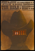 "Movie Posters:Western, Tom Horn (Warner Brothers, 1980). Polish One Sheet (26"" X 38""). Western...."