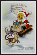 "Movie Posters:Animated, Winnie the Pooh and Christmas Too (ABC Television, 1991). One Sheet (27"" X 41""). Animated...."