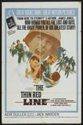 "Movie Posters:War, The Thin Red Line (Allied Artists, 1964). One Sheet (27"" X 41"") andLobby Cards (7) (11"" X 14""). War.... (Total: 8 Items)"