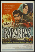 "Movie Posters:Adventure, Barabbas (Columbia, 1962). One Sheet (27"" X 40""). Adventure...."