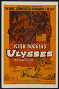 "Movie Posters:Adventure, Ulysses (Paramount, R-1960). One Sheet (27"" X 41""). Adventure...."