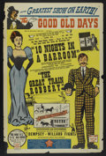 "Movie Posters:Comedy, The Good Old Days (Various, 1940s). One Sheet (27"" X 41"").Comedy...."