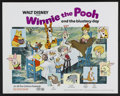 "Movie Posters:Animated, Winnie the Pooh and the Blustery Day (Buena Vista, 1969). HalfSheet (22"" X 28""). Animated...."