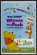 "Movie Posters:Animated, Winnie the Pooh and the Blustery Day (Buena Vista, 1969). One Sheet(27"" X 41"") Tri-Folded. Animated...."