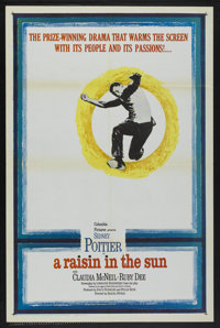 "A Raisin in the Sun (Columbia, 1961). One Sheet (27"" X 41""), Title Lobby Card and Lobby Cards (2) (11"" X..."