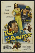 "Movie Posters:Adventure, The Thief of Damascus (Columbia, 1952). One Sheet (27"" X 41"").Adventure...."