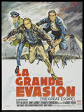 "Movie Posters:War, The Great Escape (United Artists, 1963). French Petite (22"" X 30"").War...."