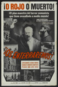 "Movie Posters:Documentary, We'll Bury You (Columbia, 1962). Spanish Language One Sheet (27"" X 41""). Documentary...."