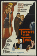 "Movie Posters:Mystery, Twenty Plus Two (Allied Artists, 1961). One Sheet (27"" X 41"").Mystery...."
