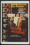 "Movie Posters:Action, Bourbon Street Shadows (Manson Distributing, 1962). One Sheet (27"" X 41""). Action...."